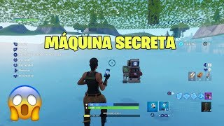 BUG Below map *CREATIVE MODE* (SECRET MACHINE) - FORTNITE PS4/XBOX/PC
