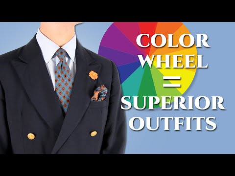 How To Use The Color Wheel To Assemble Superior Outfits For Men