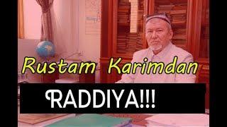 Рустам Карим Абдулазиз Мансурнинг муридларига радиия берди  Rustam Karim Jonli Efirda