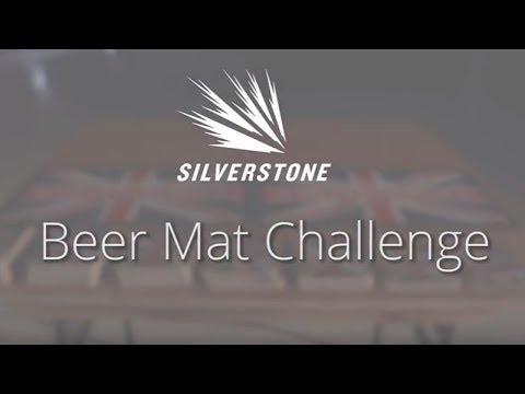 Silverstone Beer Mat Challenge - Jason Plato