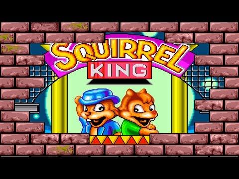 Squirrel King Chip and Dale Sega Mega DriveGenesis.