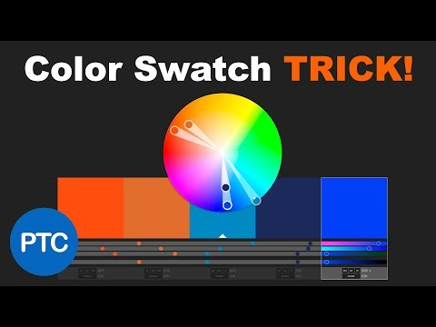 Color Swatch Trick EVERY Designer Should Know! Photoshop Swatches From HTML, CSS, & SVG