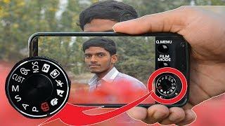 How To Make Dslr Mobile Camera | Dslr Photo Camera App