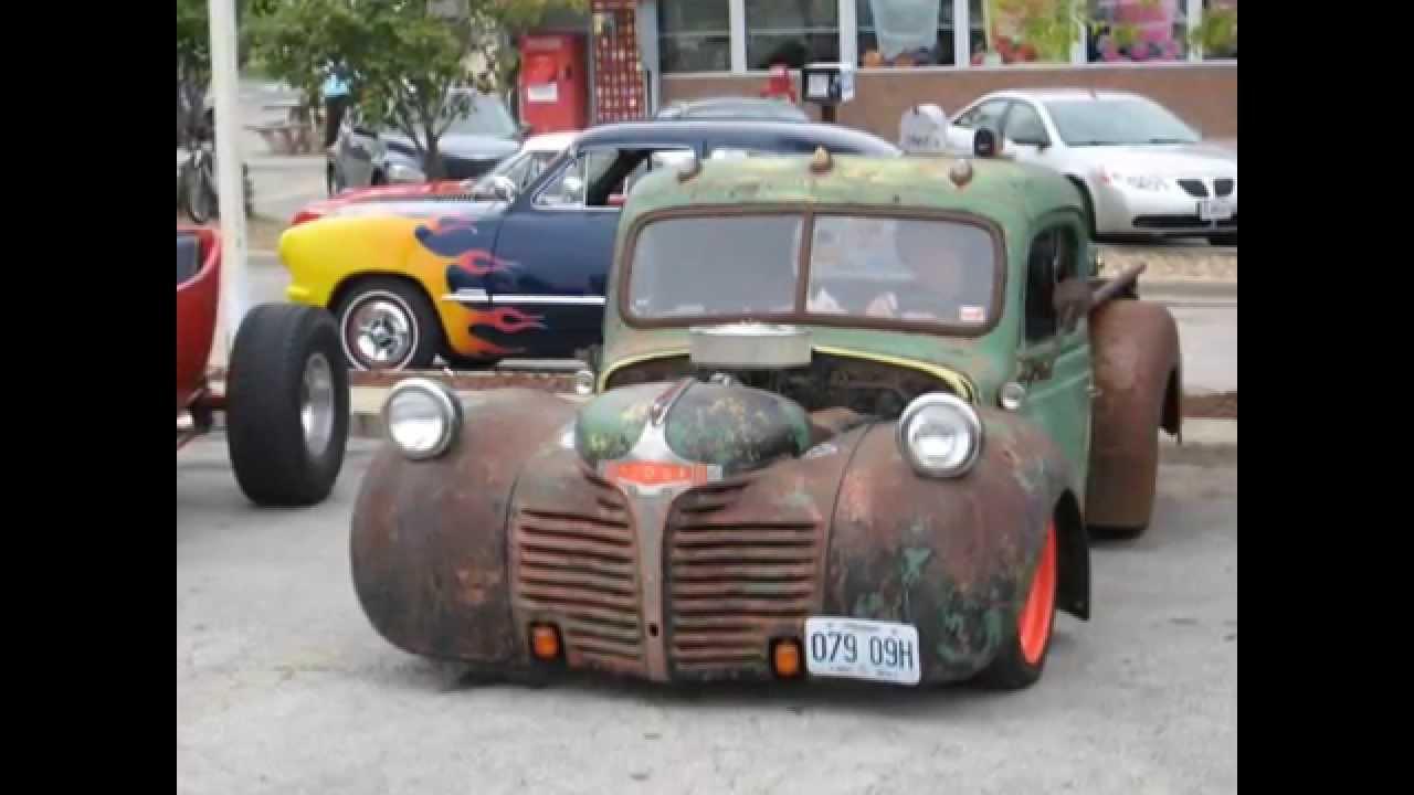 The Car Show Hemi Rat 46 Dodge Pickup - YouTube