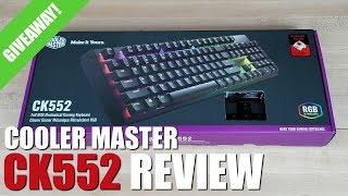 Cooler Master CK552 Review (Best Mechanical Gaming Keyboard Under $100?)