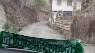 Artvin Erzurum yolu üzerinden EsenYaka Köyüne Çıkış. 2014