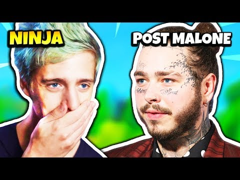 NINJA REACTS TO POST MALONE PLANE EMERGENCY LANDING | Fortnite Daily Moments Ep.171