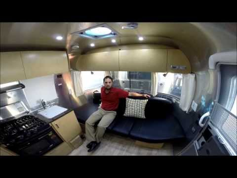 Walk Through 2015 Airstream Flying Cloud 19C Bambi Travel Trailer