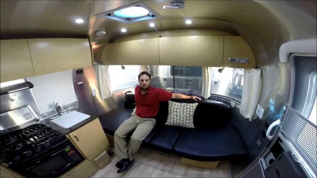Walk Through 2015 Airstream Flying Cloud 19C Bambi Travel