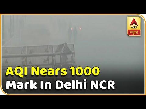 AQI Nears 1000 Mark In Delhi NCR After Diwali | Super 9 | ABP News