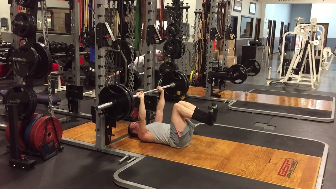 Fix Your Low Back Arch On Bench Press Barbell Floor Press