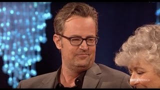 Matthew Perry Meets Someone Who Has Never Seen Friends - The Graham Norton Show