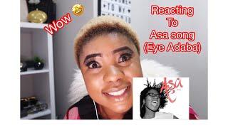 EYE ADABA BY ASA- COVER BY SUNSAY |REACTION VIDEO| |IYAWO OLA VLOGS|