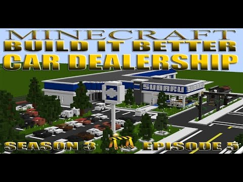 Minecraft Car Dealership (Build it Better S3EP5)