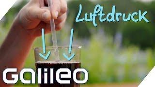 Finde den Lügner: Wasser vom 10 m Brett hochsaugen? Metall mit Sonne schmelzen? | Galileo