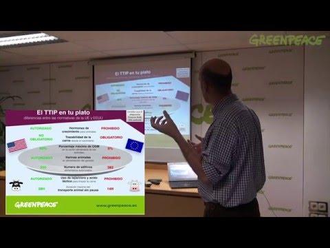 Formación TTIP en la oficina de Greenpeace | TTIP training in Greenpeace Office