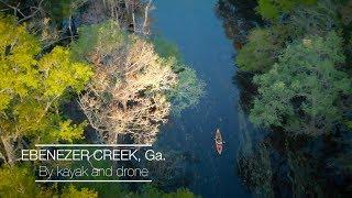 Ebenezer Creek by kayak and drone