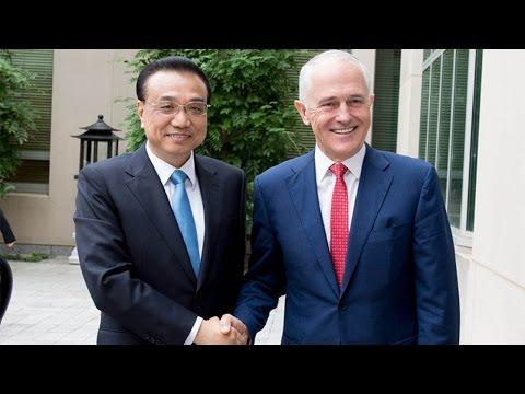 03/23/2017: Chinese Premier Li Keqiang visits Australia