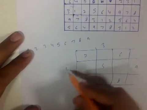 How to create blank random sudoku and magic squares