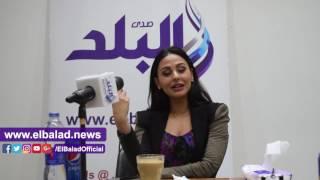 ميس حمدان تغنى 'مسكتلوش' لايف فى ندوة 'صدى البلد' .. فيديو