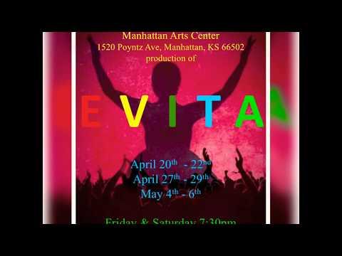 EVITA - Manhattan Arts Center!