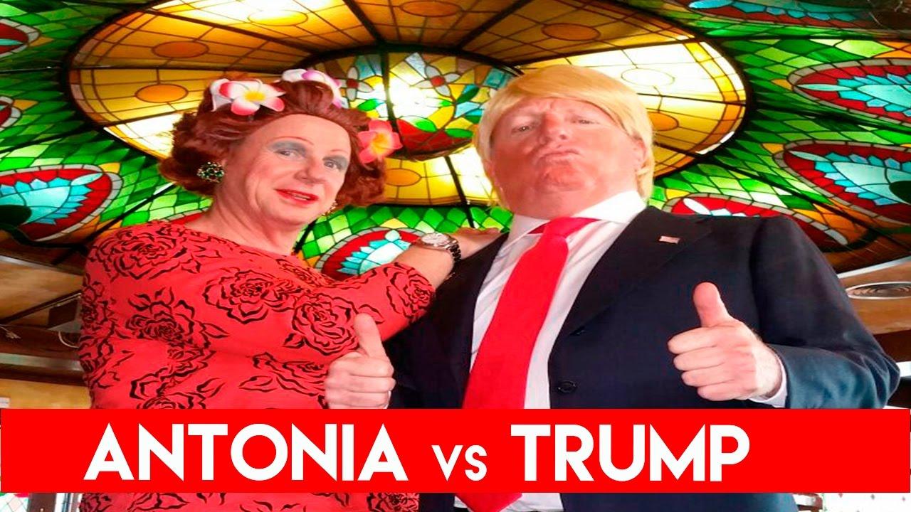 ANTONIA vs TRUMP   Los Morancos (Parodia)