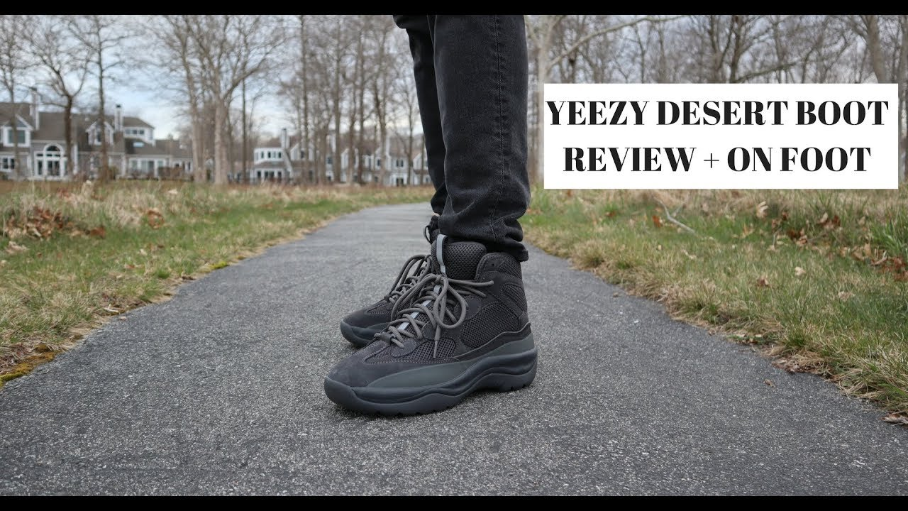 fdc49047fde Yeezy Desert Boot!!! - YouTube