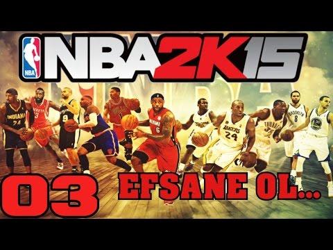NBA 2K15 Türkçe   Ümidi cosmaya ve costurmaya basladi   3.Bölüm   Ps4   Kariyer