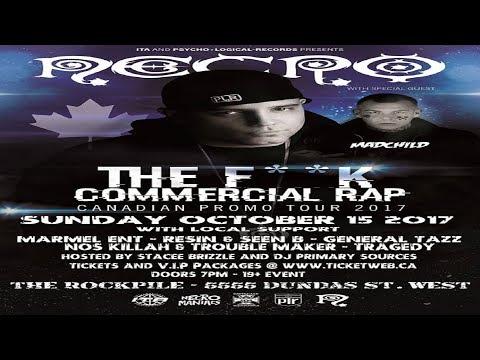 Necro: Fuck Commercial Rap - Canadian Tour