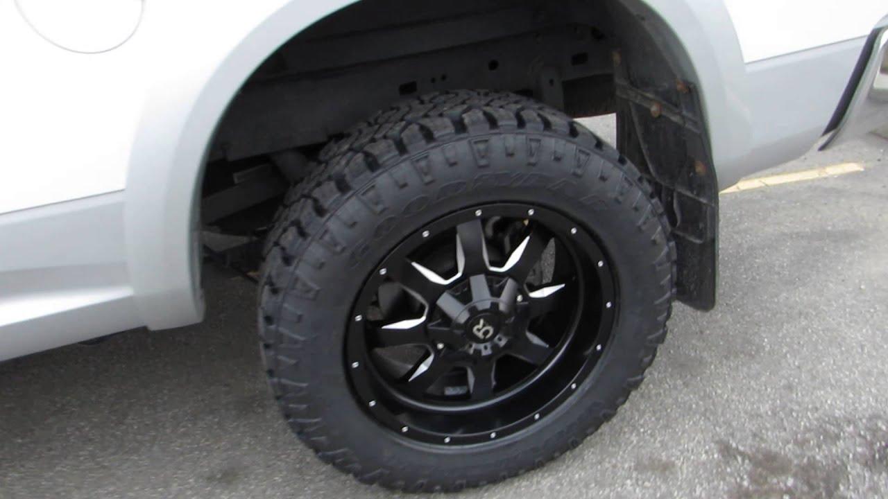 2014 Ram 2500 Hemi With Custom 20 Inch Black Off Road Rims