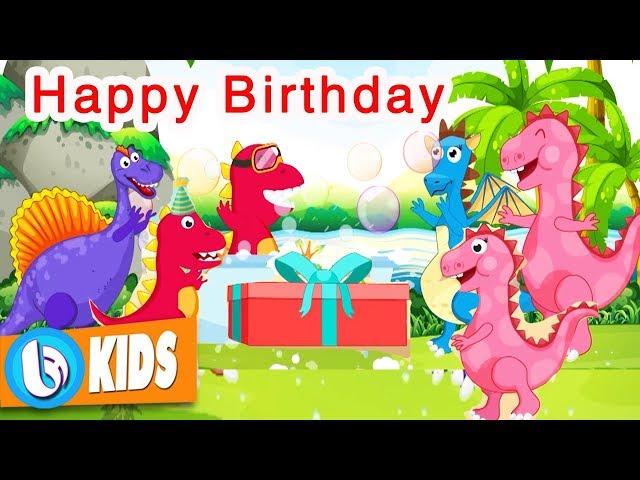 Chúc Mừng Sinh Nhật - Happy Birthday   Bài Hát Tiếng Anh Trẻ Em Vui Nhộn