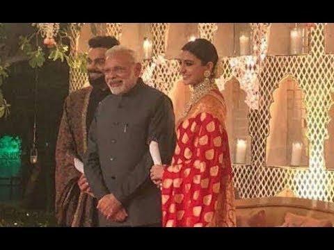 Virat-Anushka Grand Reception Live From Taj Hotel