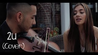 David Guetta ft Justin Bieber - 2U (Spanish - English) Laura M Buitrago (Cover)