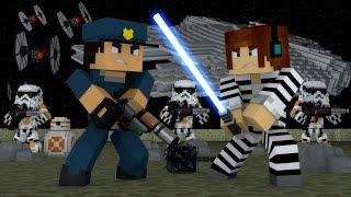 Minecraft : FUGINDO DE NAVE !! - ( Polícia e Ladrão)