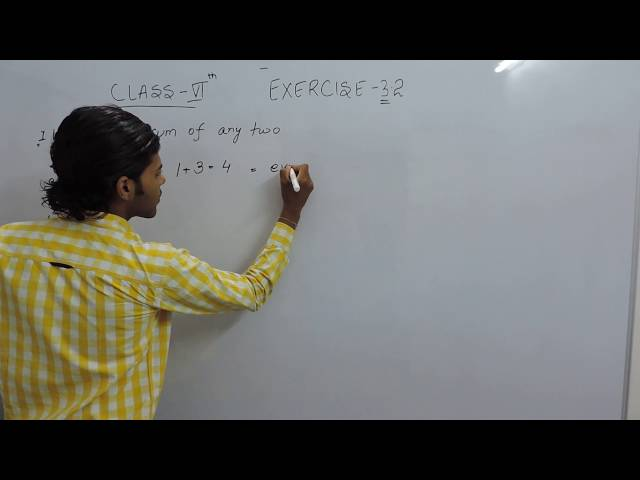Exercise 3.2 Question 1 (a,b) NCERT/CBSE Solutions for Class 6th Maths Chapter 3