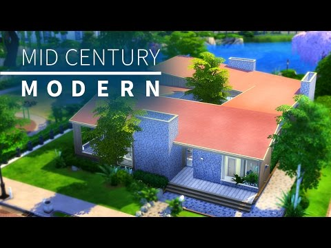 The Sims 4 Build | Mid Century Modern