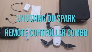 DJI Spark Remote Controller Combo Unboxing (PHILIPPINES) - GADGET EP05