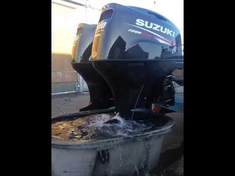 2016 Suzuki 200 HP Outboards for Captain Dan - YouTube