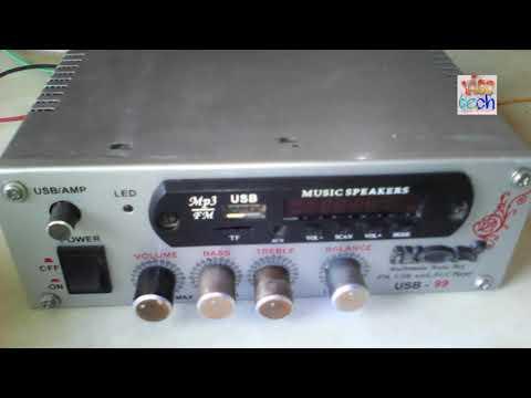 Top best amplifier / / new update 2017 / / Duniya ka sabse Sasta music player only 350 rupay