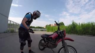 Вилли на мотоцикле. Урок #1