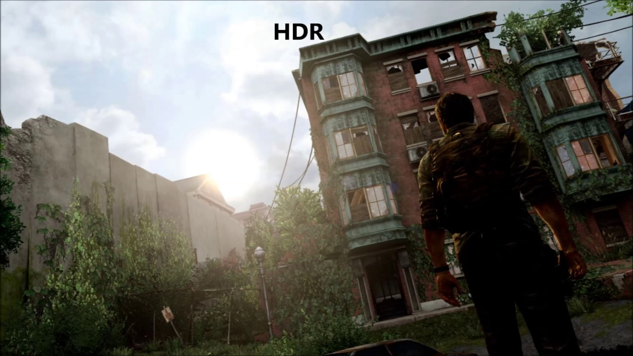 The Last Of Us Remastered PS4/PS4 Pro HDR Comparison