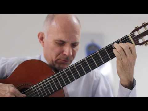 Handel Minuet in G minor on guitar