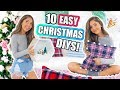 10 DIY CHRISTMAS DECORATIONS! Room Decor DIYs For The Holidays!