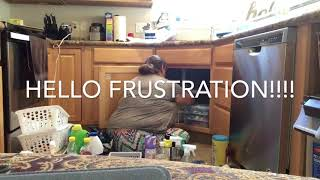 Organizing Under A Corner Kitchen Sink Tidy Up Tuesday Youtube
