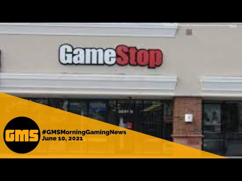 GameStop pivot, Overwatch crossplay, Simpsons Arcade1Up | #GMSMorningGamingNews | June 10, 2021 from Gaming Morning Show