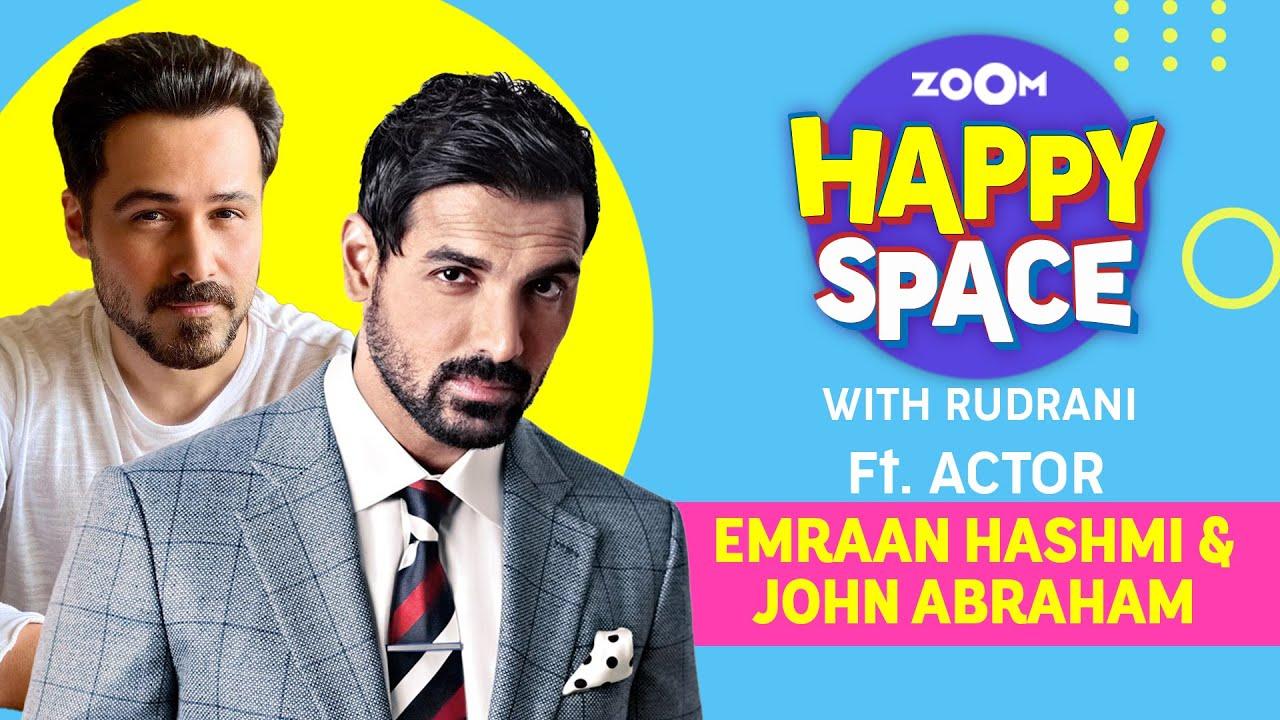 Emraan Hashmi & John Abraham | Mumbai Saga | Episode 55 | Zoom Happy Space | Full Interview
