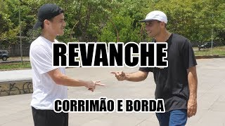 Revanche Abe vs Gordo: Corrimão e borda