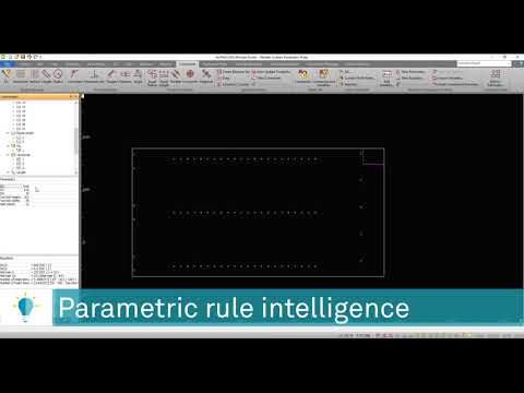 Improvements In Parametric Rules | ALPHACAM 2020.0