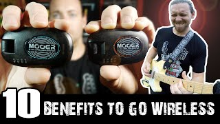 10 Benefits Of Using A Wireless System   Mooer Air P10 Review & Demo