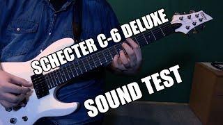 SCHECTER C-6 DELUXE Demo